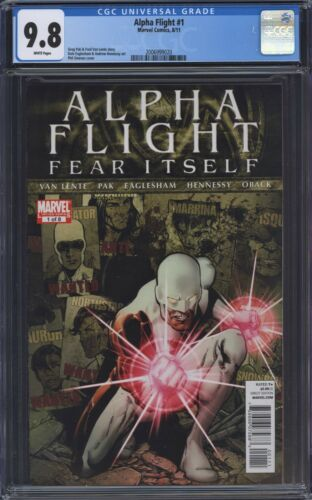 Alpha Flight #1 (2011) CGC 9.8 Hennessy Jimenez Cover Fear Itself