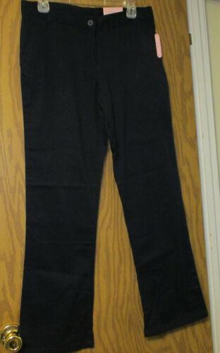 Girls Chaps Uniform Pants Navy (16 1/2 Plus) NEW
