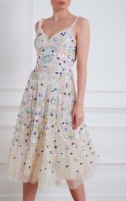 BHLDN Needle & Thread Wildflower Dress fits size US 2 4 $569