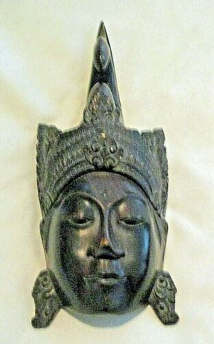 """Baule ? Face Mask from the Ivory Coast Wood 9 1/2"""""""