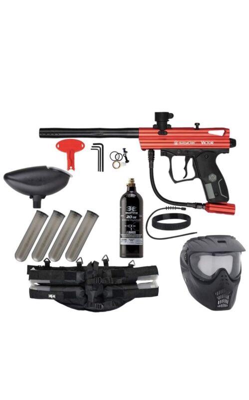 Action Village Kingman Spyder Epic Paintball Gun Package Kit