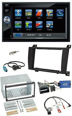 Blaupunkt SD USB TMC Bluetooth 2DIN Lenkrad Navigation für Mercedes SLK R171 200