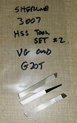 Sherline 5400 Mill Hss Tool Set 2 Pn 3007 G20t
