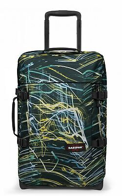 TROLLEY EASTPAK TRANVERZ S BLURRED LINES 65X BAGAGLIO A MANO NUOVO