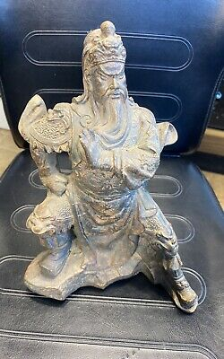 Guan Yu Statue Warrior Figure Resin