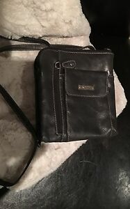 LOWER PRICE!!! Great for travel :D Grey Cross-Body purse