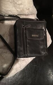 LOWER PRICE!!! Great for travel :D Grey Cross-Body purse Kitchener / Waterloo Kitchener Area image 1