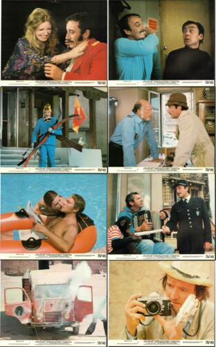 THE RETURN OF THE PINK PANTHER -PETER SELLERS- ORIGINAL USA MINI LOBBY CARD SET