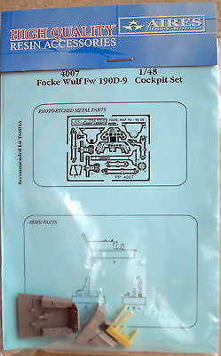 Aires 1/48 4007 Focke Wulf Fw 190D-9 Cockpit Set for Tamiya Kit