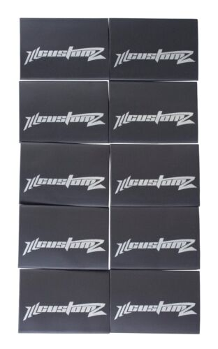 "25 Pack Oversized 1/0 AWG 0 Gauge 3/4"" Diameter Heat Shrinks BLACK"
