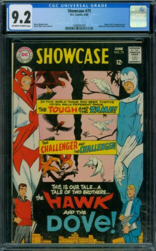 Showcase 75 CGC 9.2 - OW/W Pages
