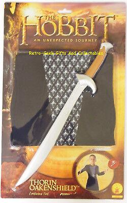 Kids Halloween Fancy Dress & Sword The Hobbit Thorin Oakenshield Dwarf By Rubies
