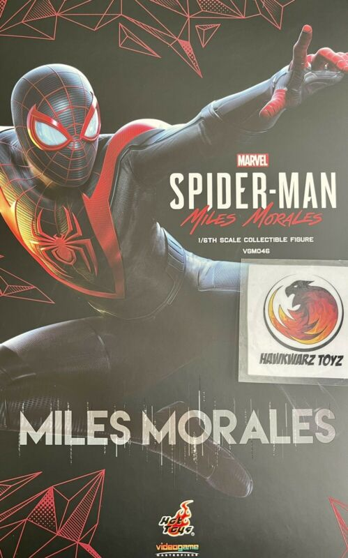 Hot Toys Marvel Spider-Man Miles Morales VGM46 1/6 Sideshow Playstation PS5