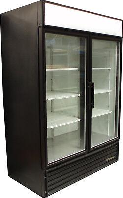 True Gdm-49 2 Swing Glass Door Merchandiser Business Refrigerator