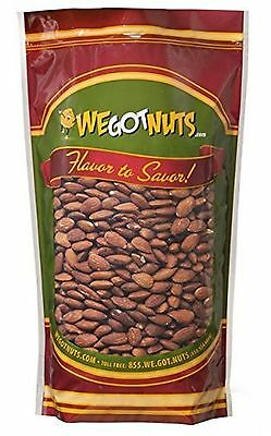 Roasted Unsalted Almonds 5 Lb Bag - We Got Nuts