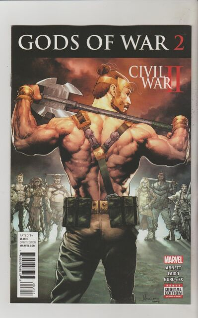 MARVEL COMICS CIVIL WAR II GODS OF WAR #2 SEPTEMBER 2016 1ST PRINT NM