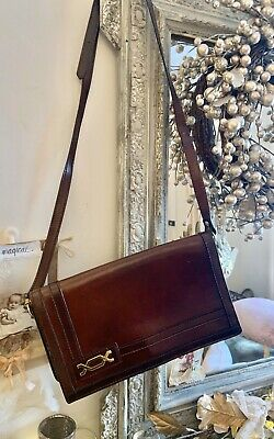 Vintage 70's All Leather Bag