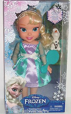 Disney Frozen Elsa Puppe Kleinkind Olaf Schneemann Neuer