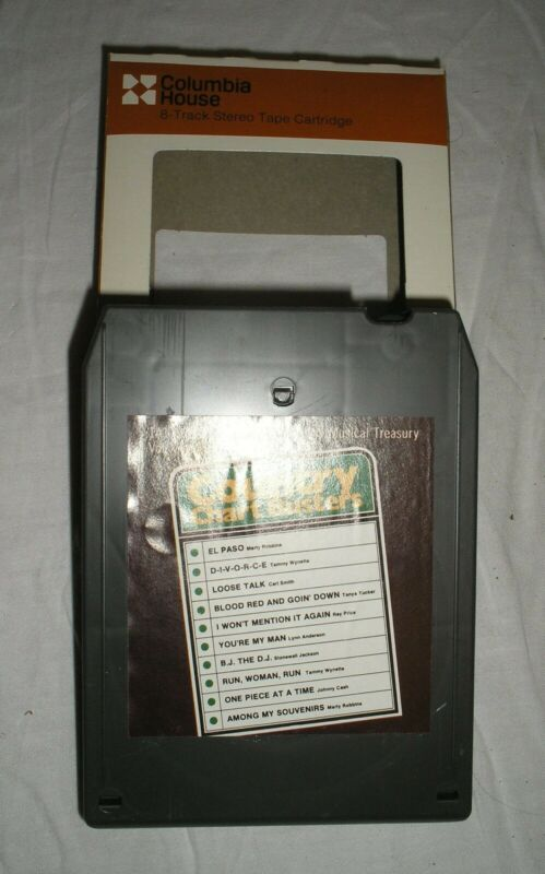 Country Chart Busters - Volume 7 - 8 Eight Track Tape