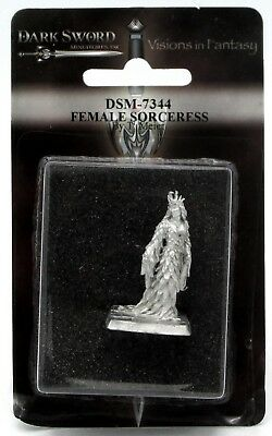 Dark Swords (Dark Sword DSM-7344 Female Sorceress (Tom Meier) Wizard Mage Fantasy)