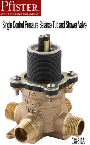 NEW Pfister 0X8-310A One-Control Pressure Balance Tub/Shower Valve w/Plaster Cap