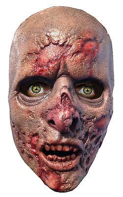 Walking Dead Prison Walker Latex Adult Mask Zombie Movie Show Costume Halloween (118 Halloween Costumes)