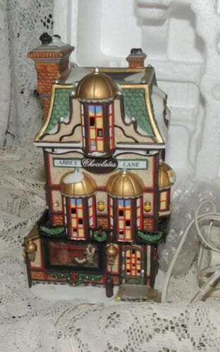 Dept 56 Dickens Village Abbey Lane Chocolates PLEASE READ House Only