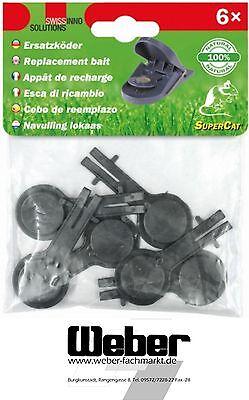 SuperCat® Köder für Mausefalle Ersatzköder  6er Pack Naturköder 950307557