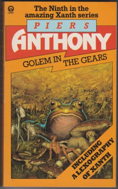 Golem in the Gears, Piers Anthony. Xanth. In Stock in Australia