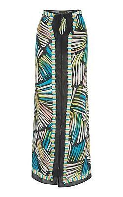 $325 NWT A Peace Treaty Salina Midi Pareo Skirt L