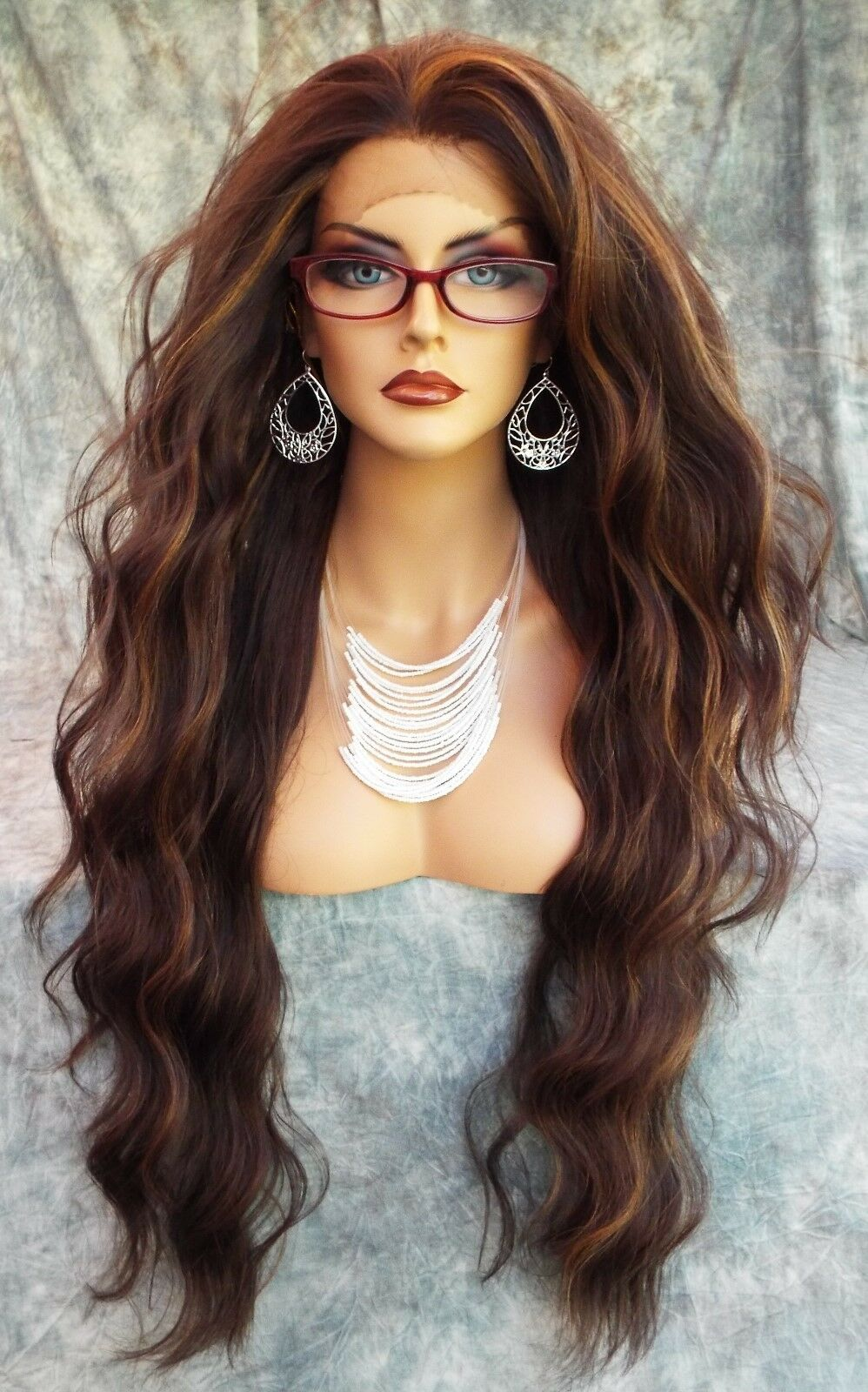27 Gorgeous Modern Living Room Designs For Your Inspiration: LACE FRONT WIG WAVY LONG WAVY GORGEOUS COLOR #FS4.27 NEW