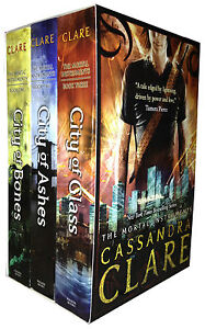 The Mortal Instruments Collection Cassandra Clare 3 Books Gift Box Set Pack