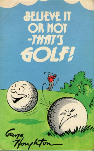 Believe it or Not - That's Golf by George Houghton (Hardback, 1974)