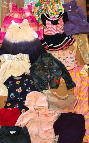 Baby Clothes Mixed Lot Girls 9 12 Months Denim Jacket Summer Dress Tops Bodysuit