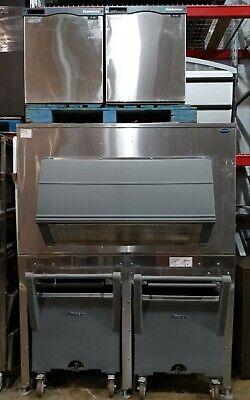 Scotsman Prodigy Flake Remote Ice Machines W Follett Ice Bin Transport System