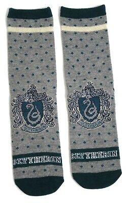 HARRY POTTER DAMEN SLYTHERIN SCHOOL HOUSE SPOTTY SOCKEN 37-42