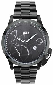 STORM Mens' Exlcusive All Black Stainless Steel Watch.