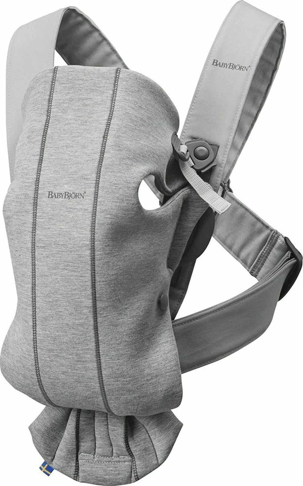 NEW BABYBJORN Baby Carrier Mini in 3D Jersey Dark Grey 02108