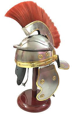 Römischer Offizier Centurion Helm Mittelalterliches Ritterrüstung Kostüm