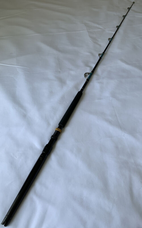 "Seeker 87267 6'3"" 30Lb Class Custom Made Conventional Fishing Rod Made In USA"