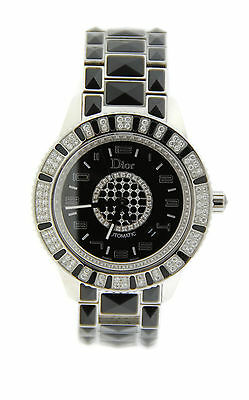 Christian Dior Christal Diamond Stainless Steel Watch CD115511M001