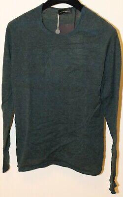 Roberto Collina Alpaca Wool Blend Sweater Size Small 46 Brand New Green