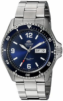 Orient Men's 'Mako II' Japanese Automatic Stainless Steel Diving Watch, Color...