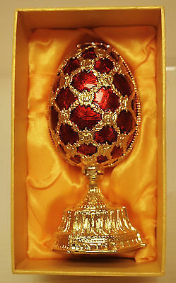 COLLECTIBLE EGGS FABERGE TRADITIONS * ST. PETERSBURG''/'' FLOWERS IN EASTER EGG""