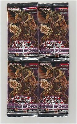 4 - Dimension of Chaos Packs Yu-Gi-Oh! NEW! 1ST EDITION