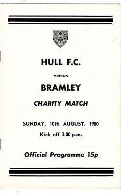 Hull FC v Bramley 1980/1 (10 Aug) Charity Match