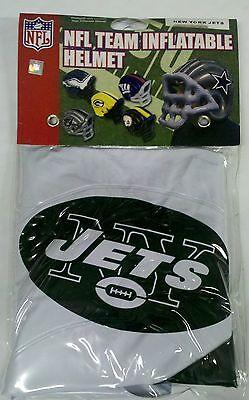 New York Jets Inflatable/Blow Up Helmet NEW - Great Halloween Costume - Blow Up Helmet