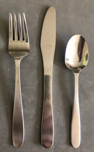 SAS Scandanavian Airlines Stainless Cutlery,  4-Piece Silverware