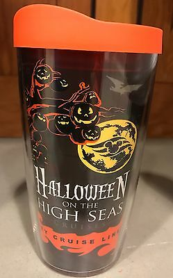 Disney Cruise Line Halloween On The High Seas Cruises Tervis Mug Cup NEW - Disney Halloween Cruise