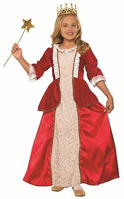 Princess Rachel Red Child Queen Kids Halloween Costume Small 4-6